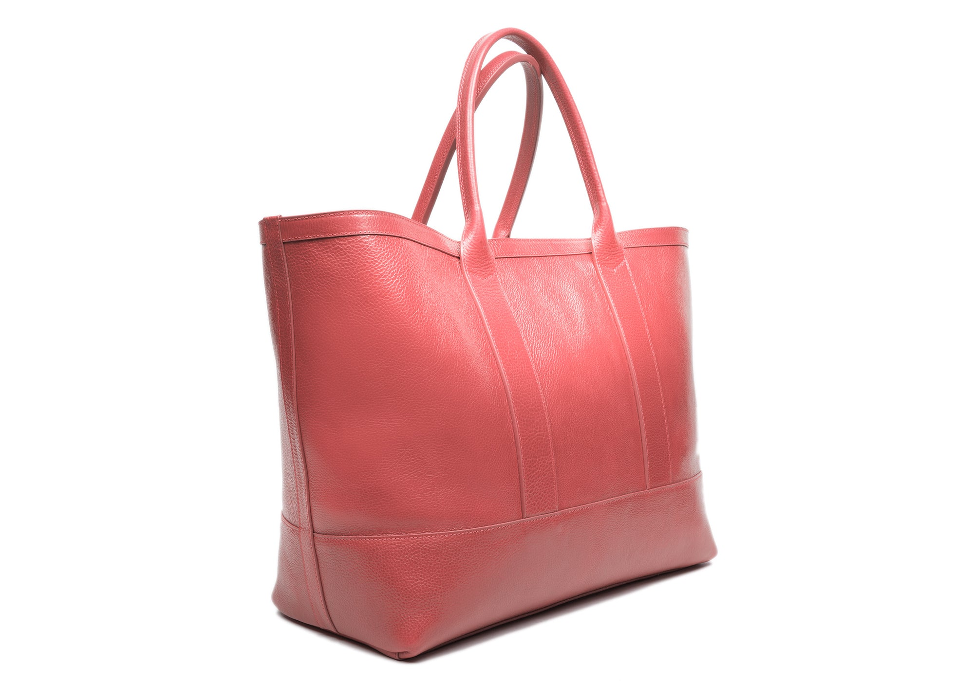 Leather Working Tote Rosewood