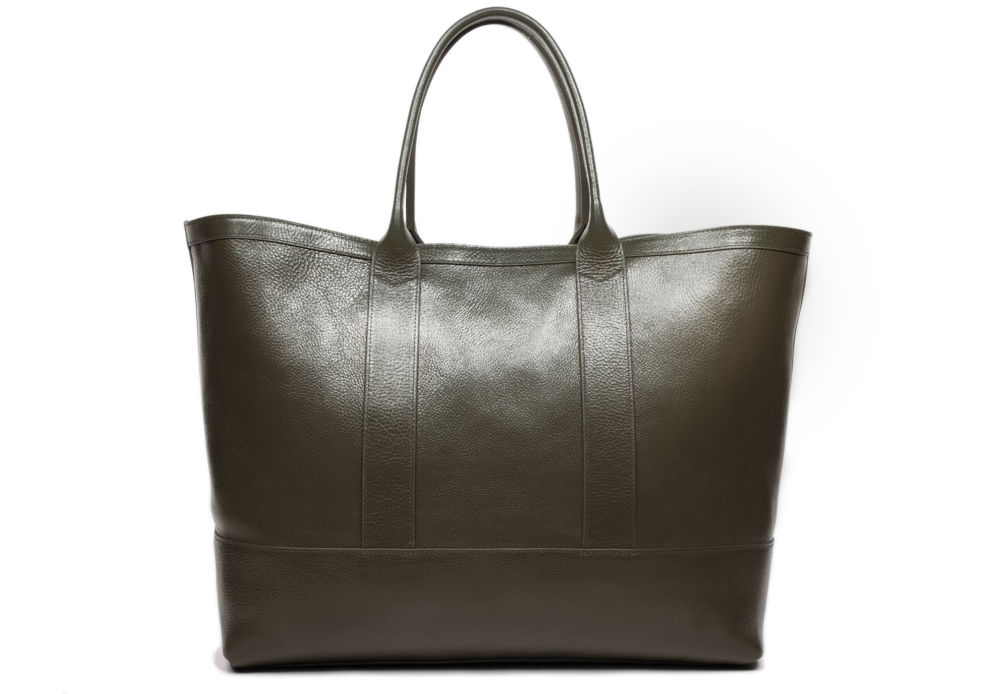 Leather Working Tote Olive