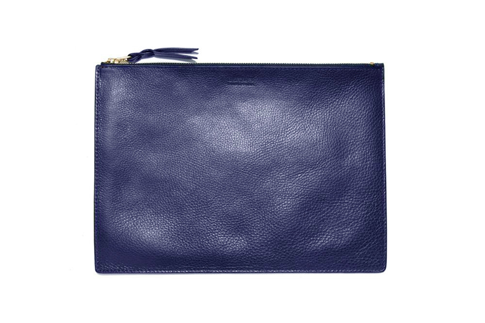 Zipper iPad Mini Pouch Indigo