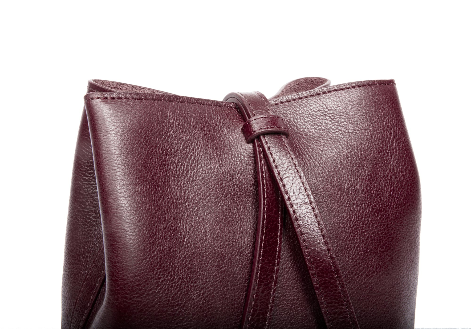 The Mini Sling Backpack Cordovan
