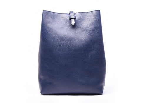 Indigo|Front Leather View