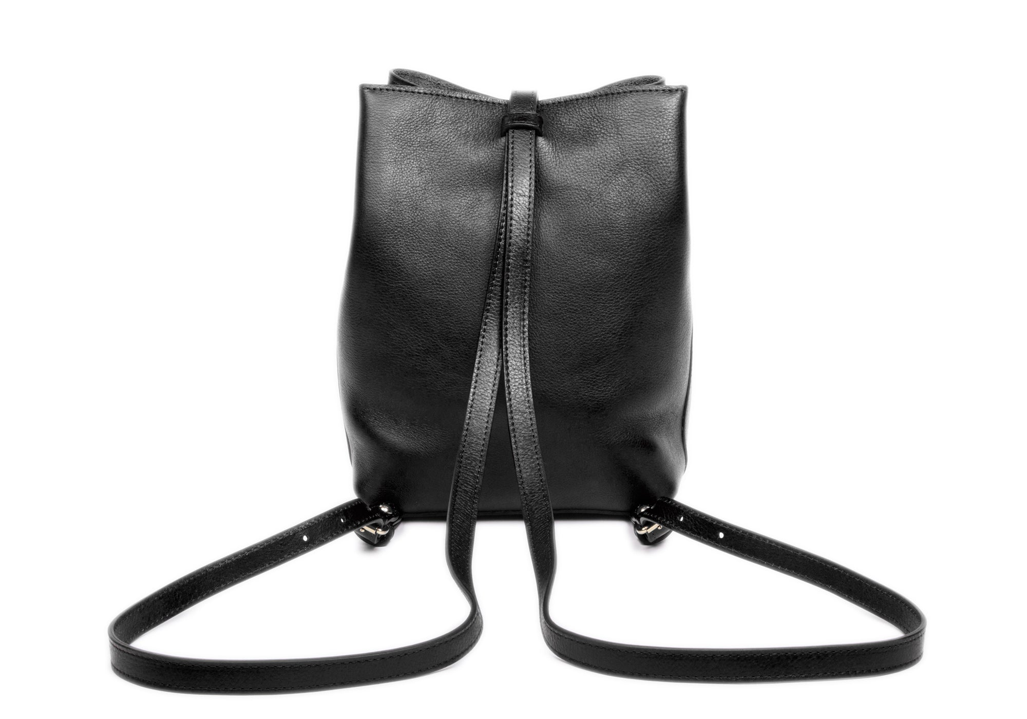 The Mini Sling Backpack Black