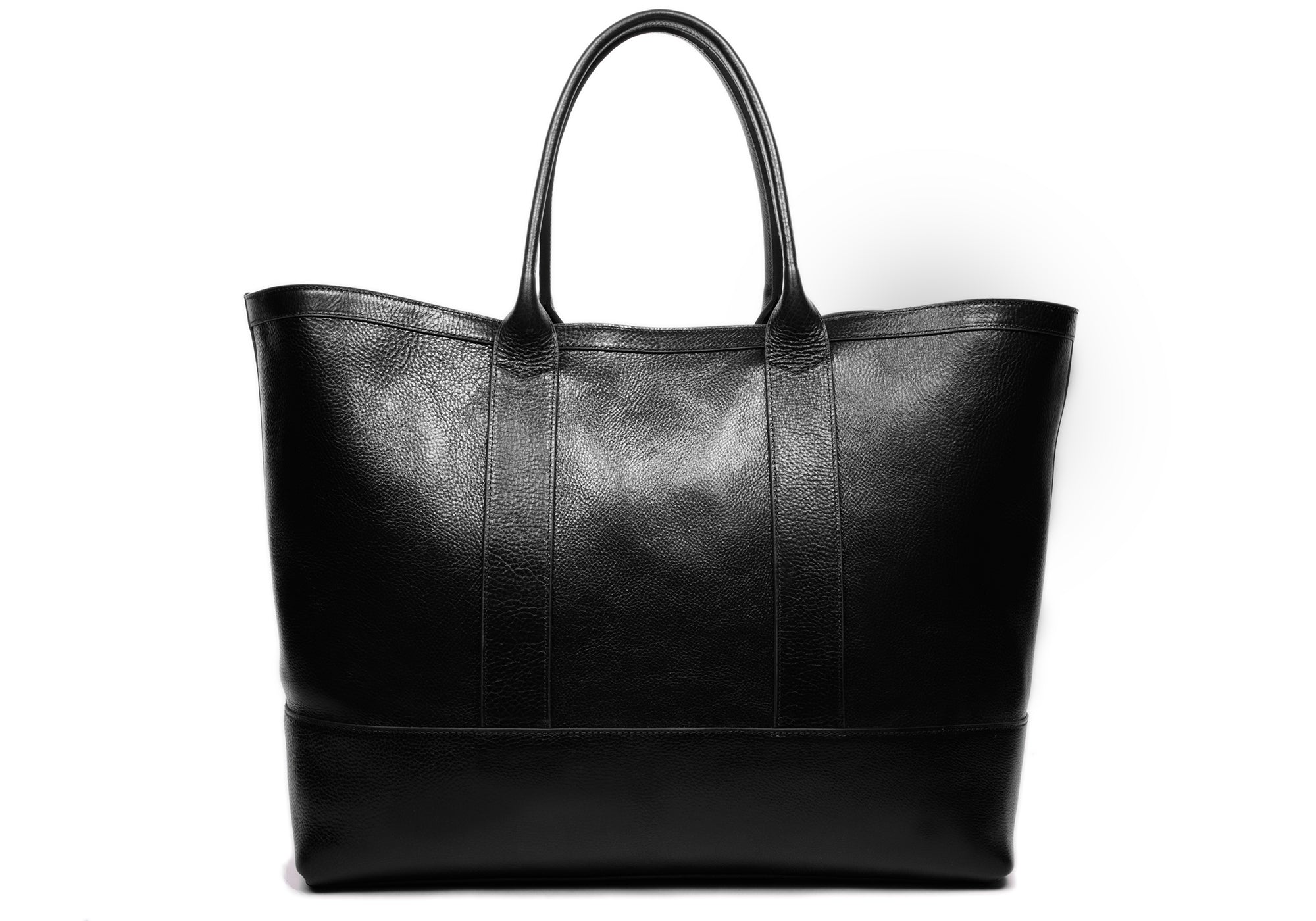 Leather Working Tote Black
