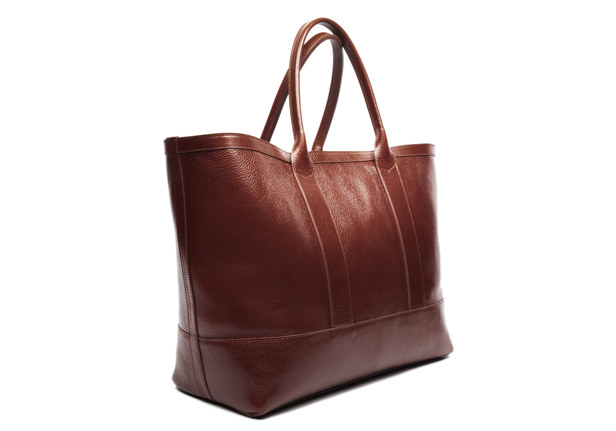Leather Working Tote Chestnut