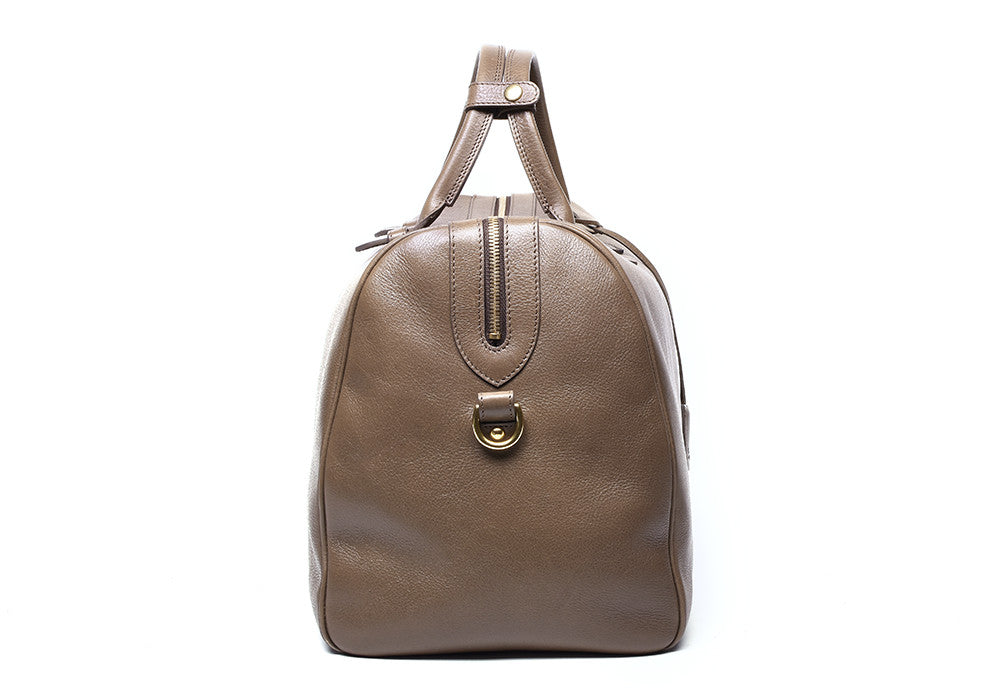No. 10 Leather Weekender Bag Clay