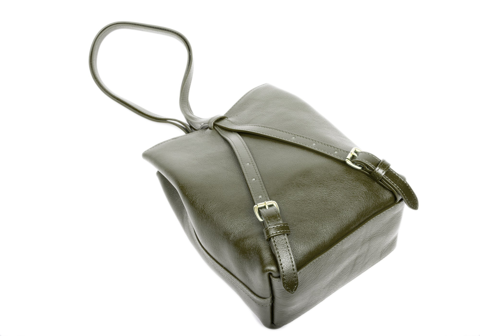 The Mini Sling Backpack Olive