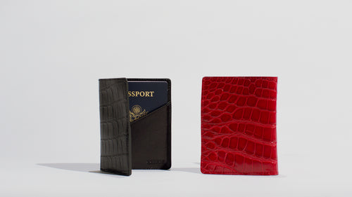 American Alligator Passport Wallet
