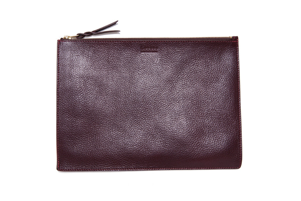 Zipper iPad Mini Pouch Cordovan