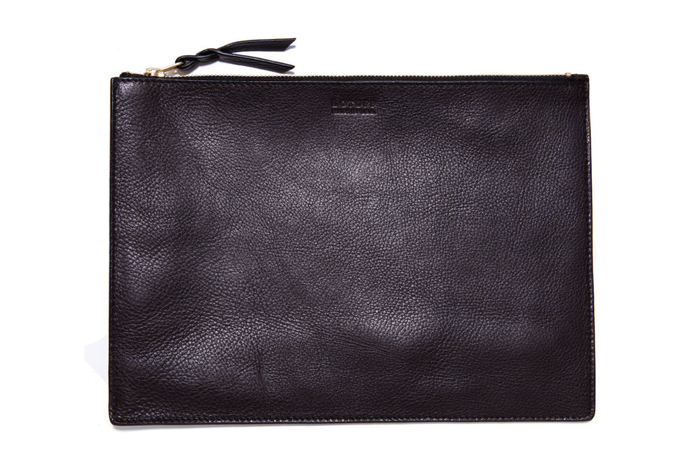 "Zipper 13"" Macbook Air Pouch Chocolate"