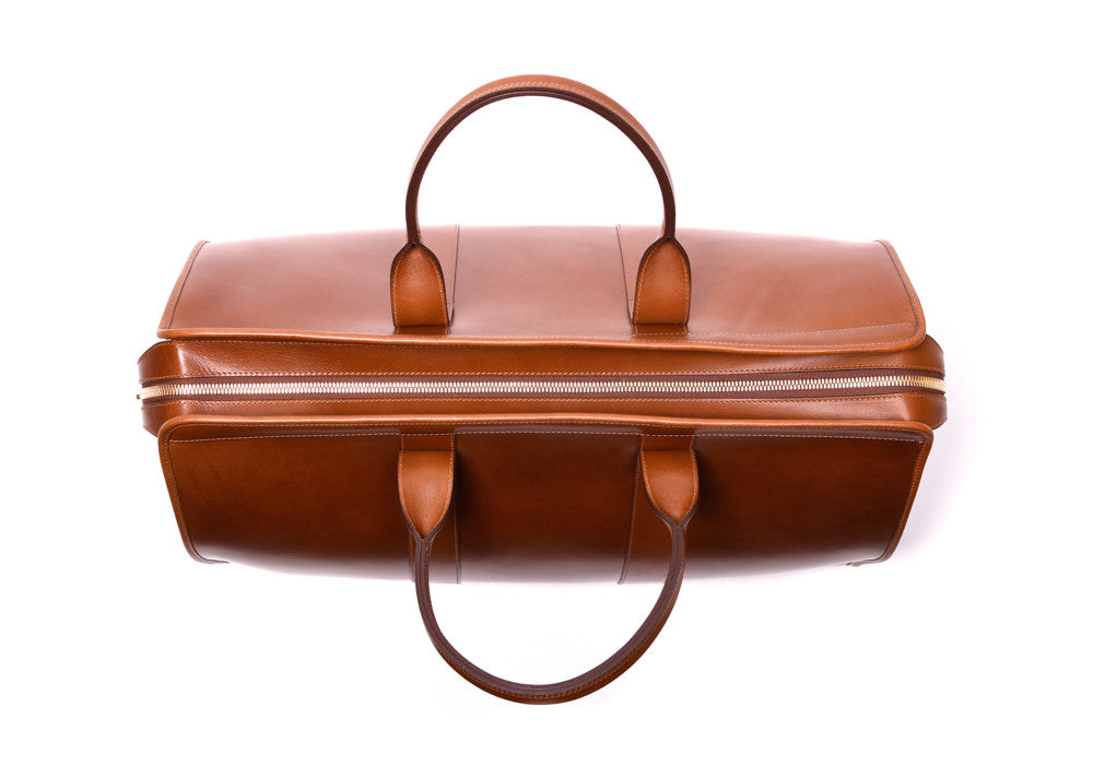Bridle Duffle Travel Bag Cognac Bridle