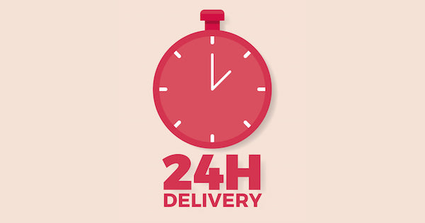 24-hour delivery