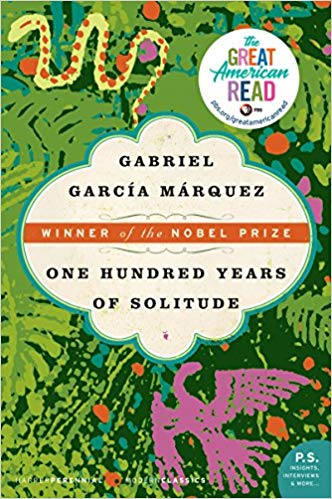 One Hundred Years Of Solitude book cover