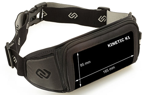 Sporteer Kinetic Running Belt Fits Large Phones and Cases