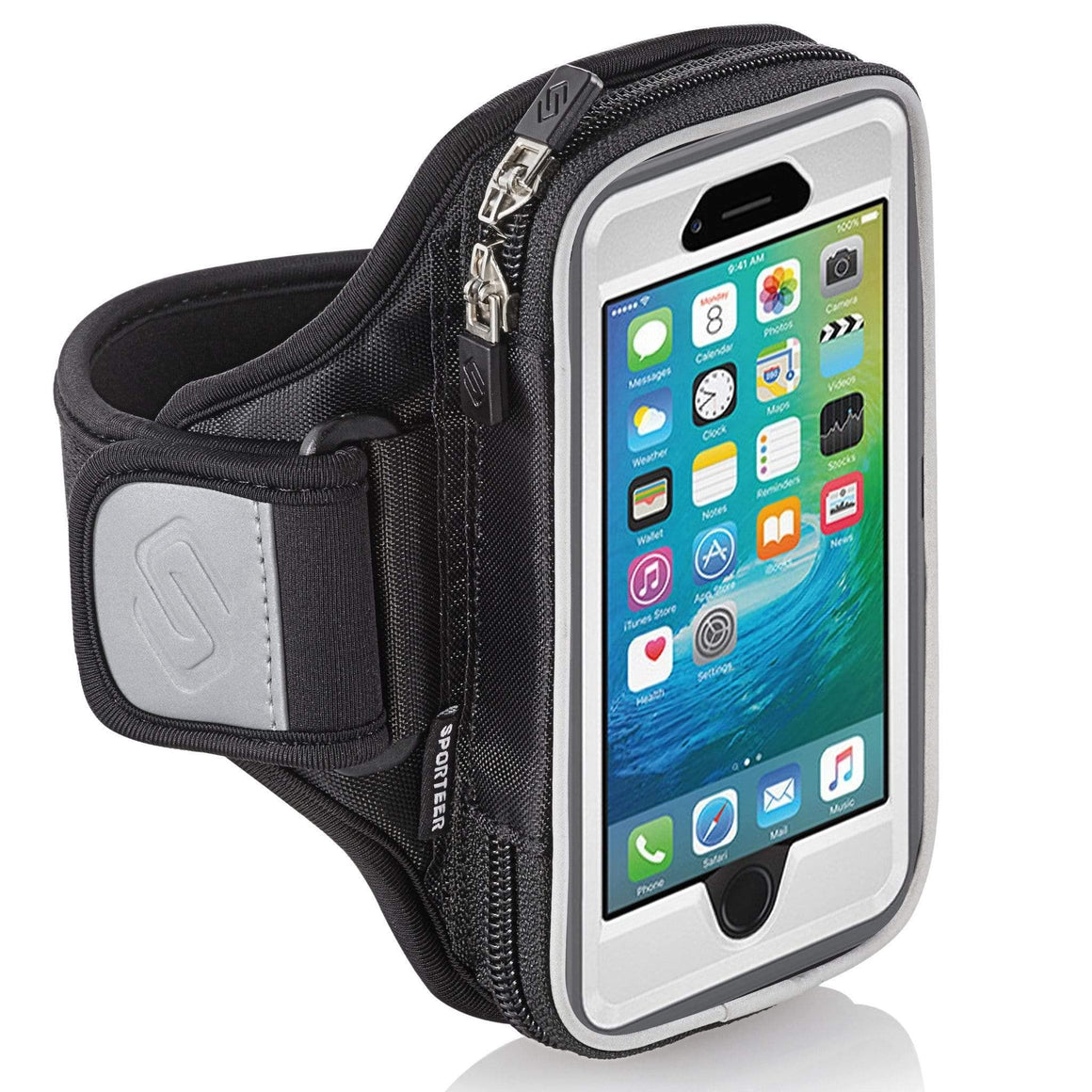 Sporteer Entropy E6 Modular Running Armband for Samsung Galaxy phones with Otterbox Case