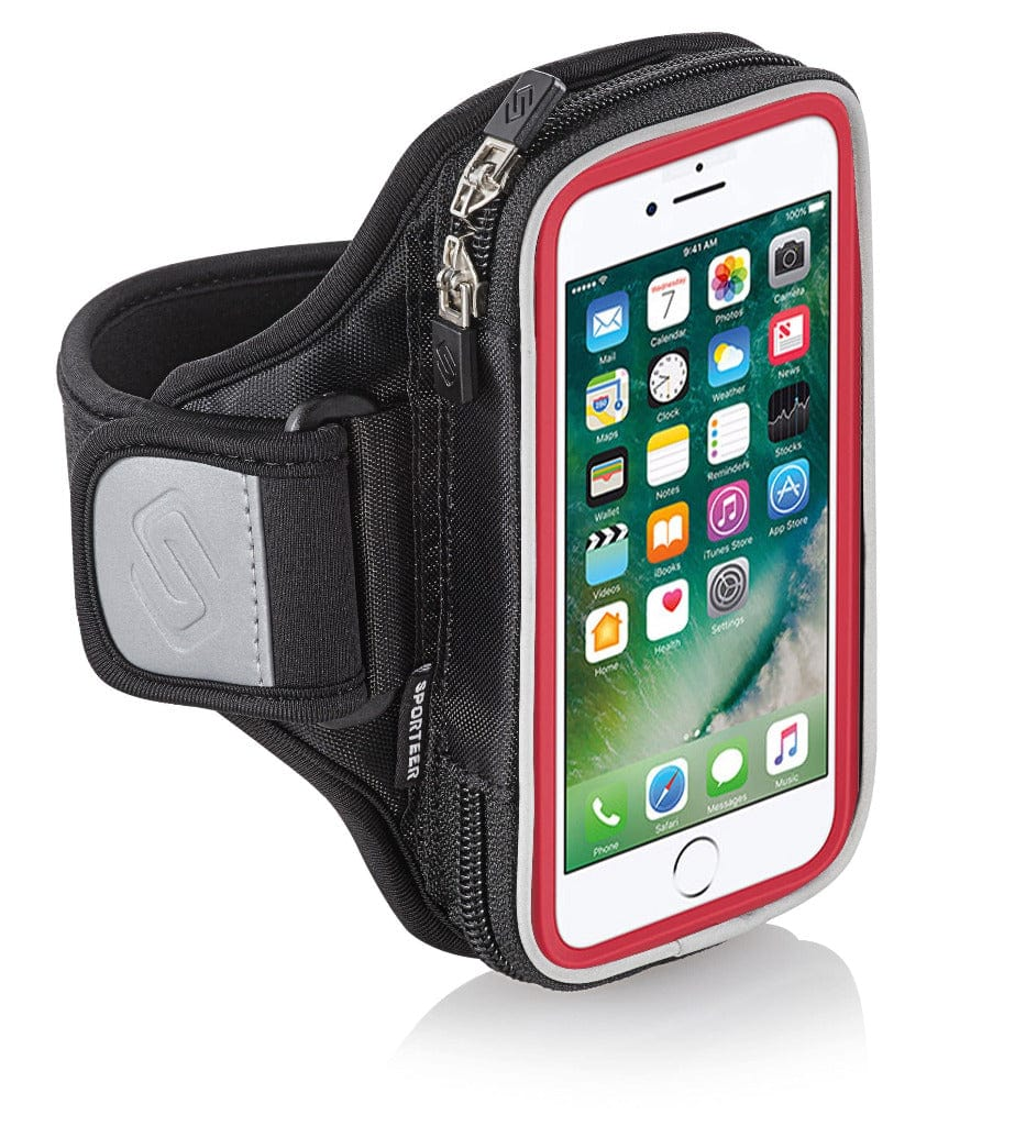 Sporteer Armband for iPhone 8 Plus with Otterbox Symmetry Case