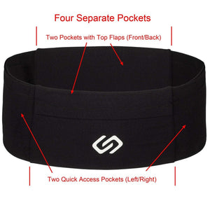 Sporteer VersaMod Waist Pack with Four Pockets