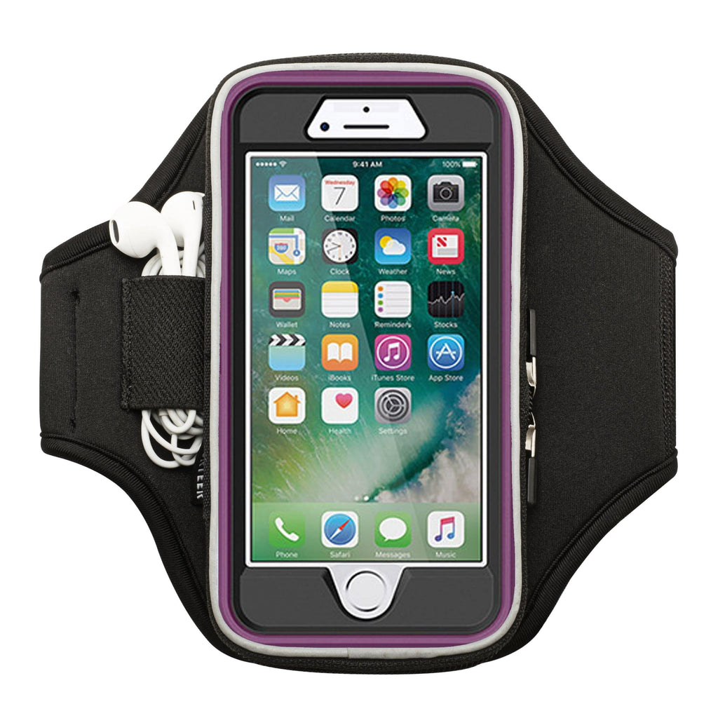 Exercise armband case for iPhone 8 fits otterbox