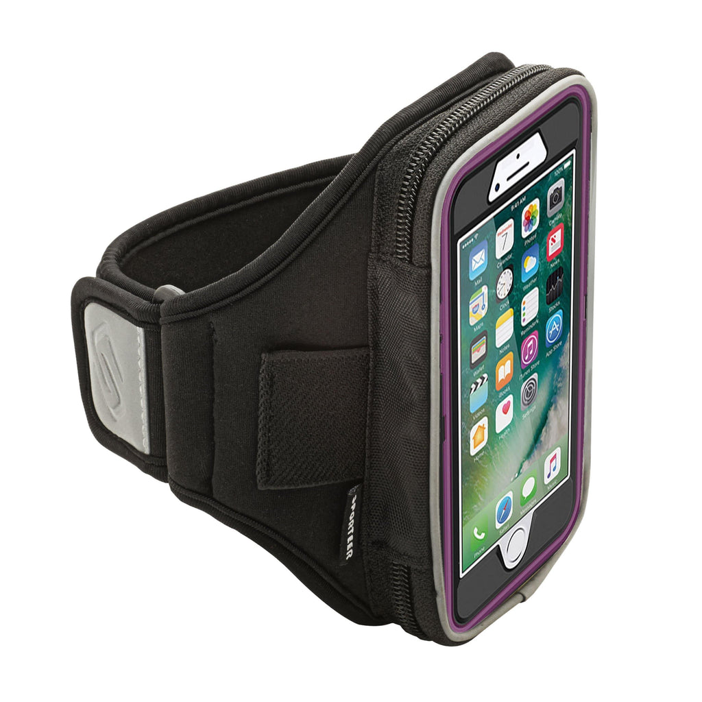 Sporteer Velocity Armband for iPhone 8 with Otterbox case