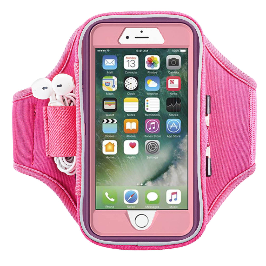 Sporteer armband fits iPhone 8 with Otterbox case