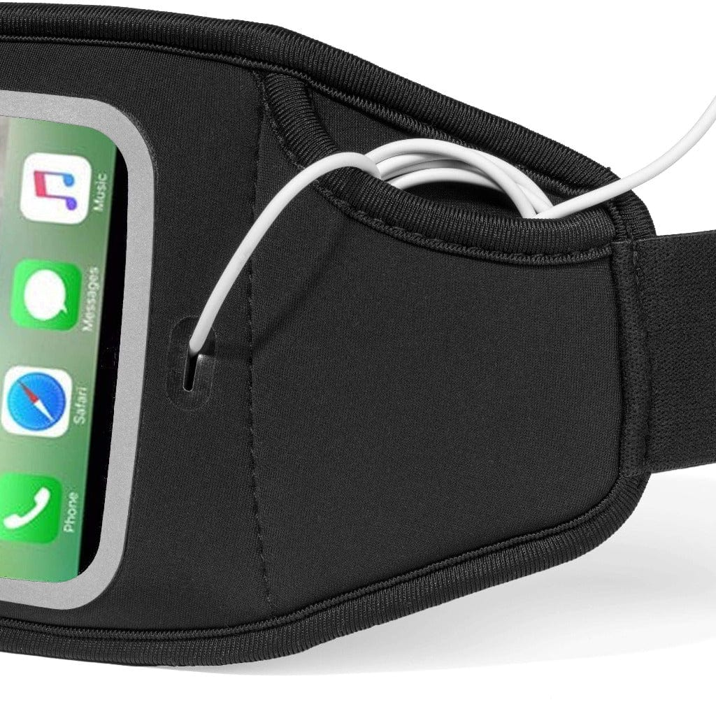 Sporteer lumbar pack for iPhone 8 is light weight and water resistant