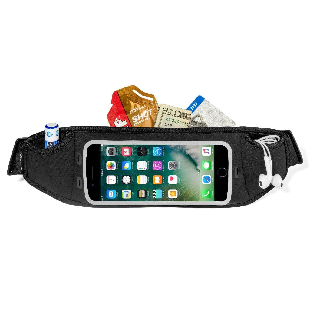 carry iphone 8 Plus while running with sporteer zephyr waist pack