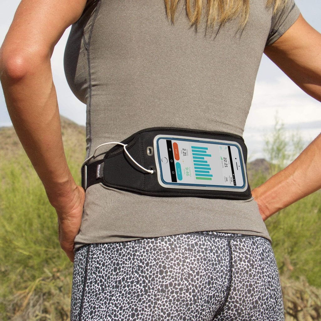 Sporteer Zephyr runners belt for iphone 8