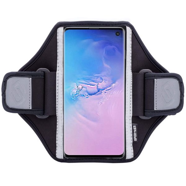 Sporteer Classic Modular Galaxy S10 Armband Case for Running