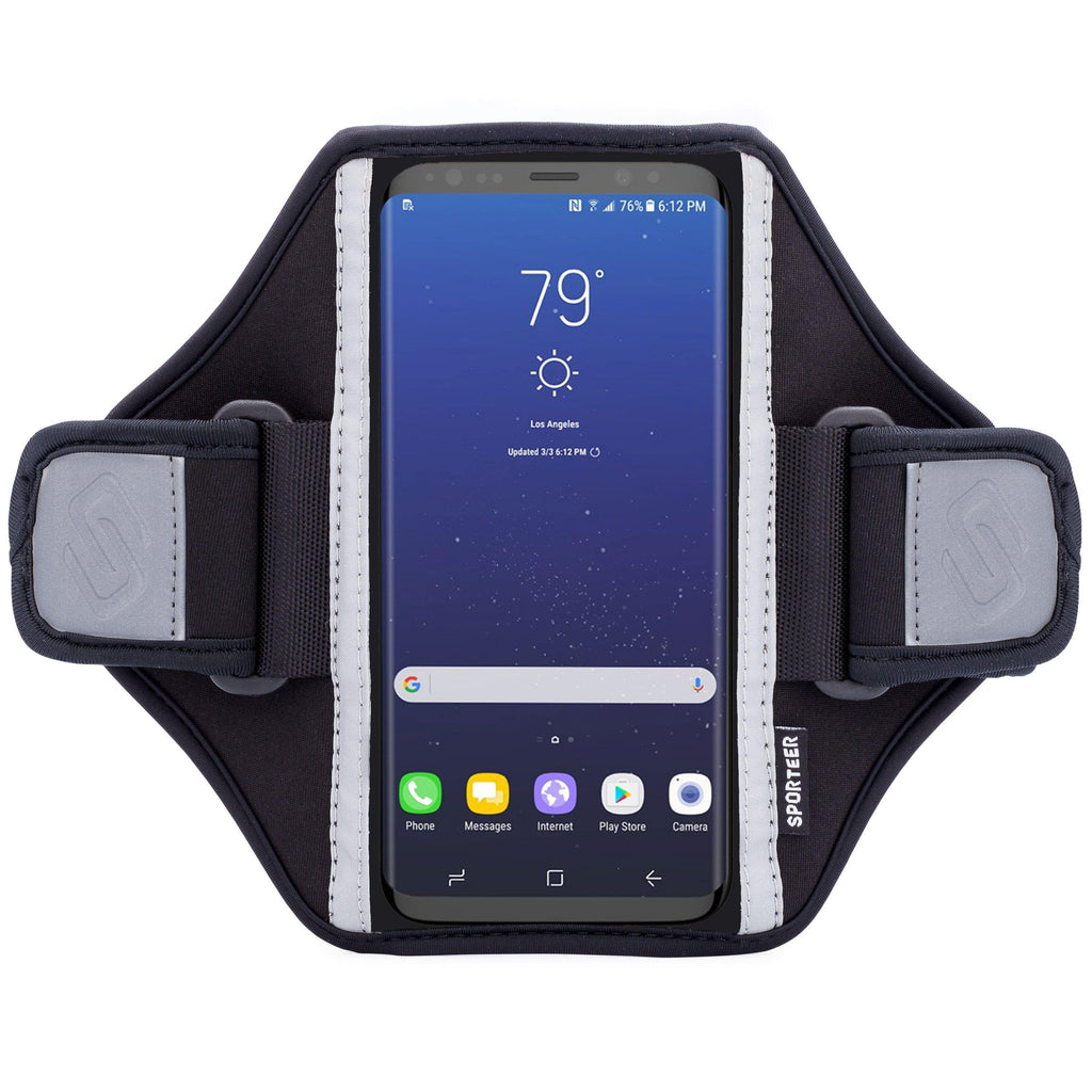 Sporteer Classic Modular Galaxy Phone Armband Case for Running