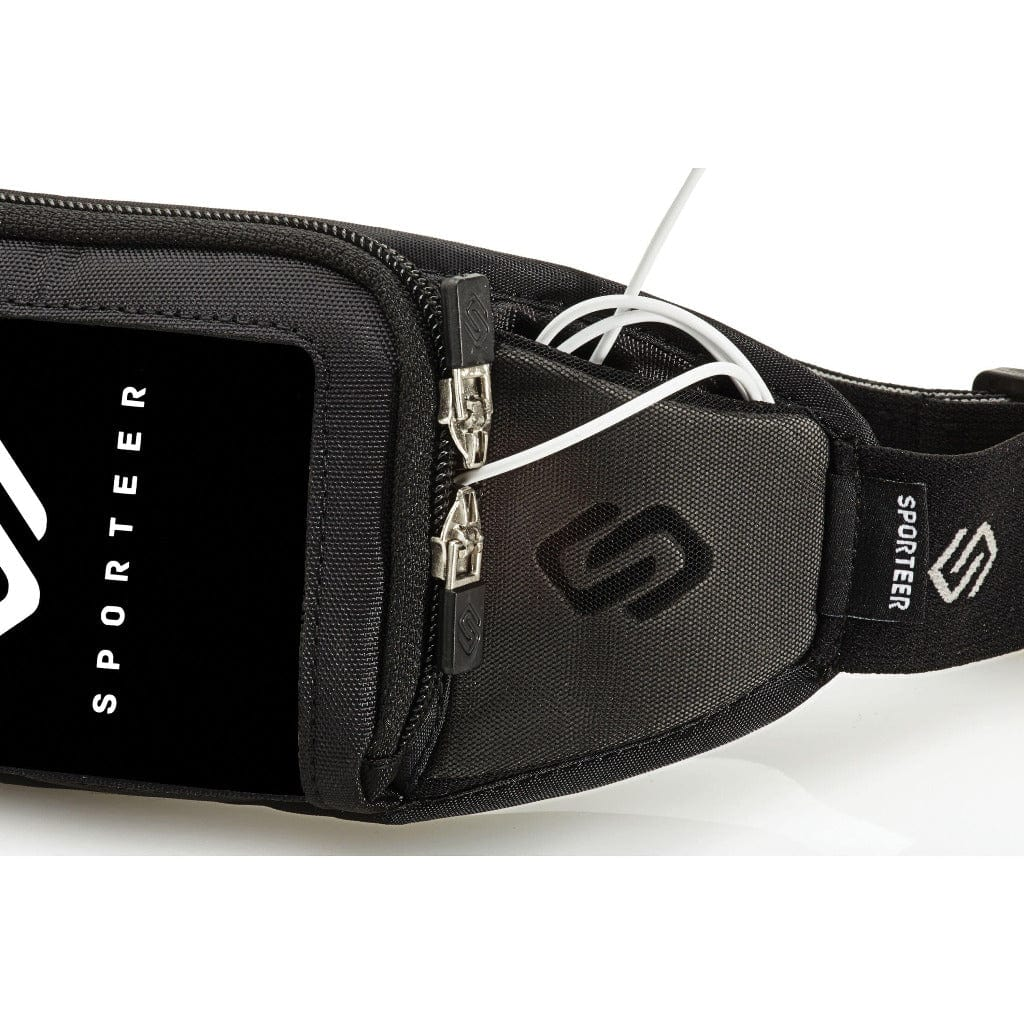 Sporteer runners belt to carry Galaxy S9 Plus while running