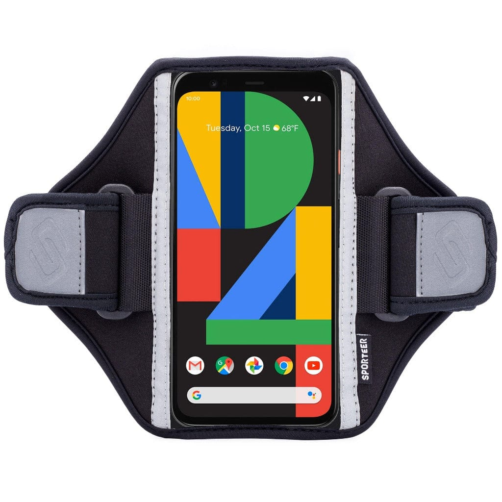 Sporteer Classic Modular Pixel 4 Armband Case for Running