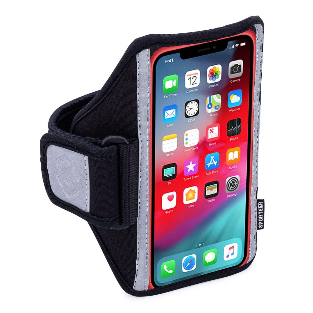 Sporteer Classic Running Armband for iPhone 8 Xs Max