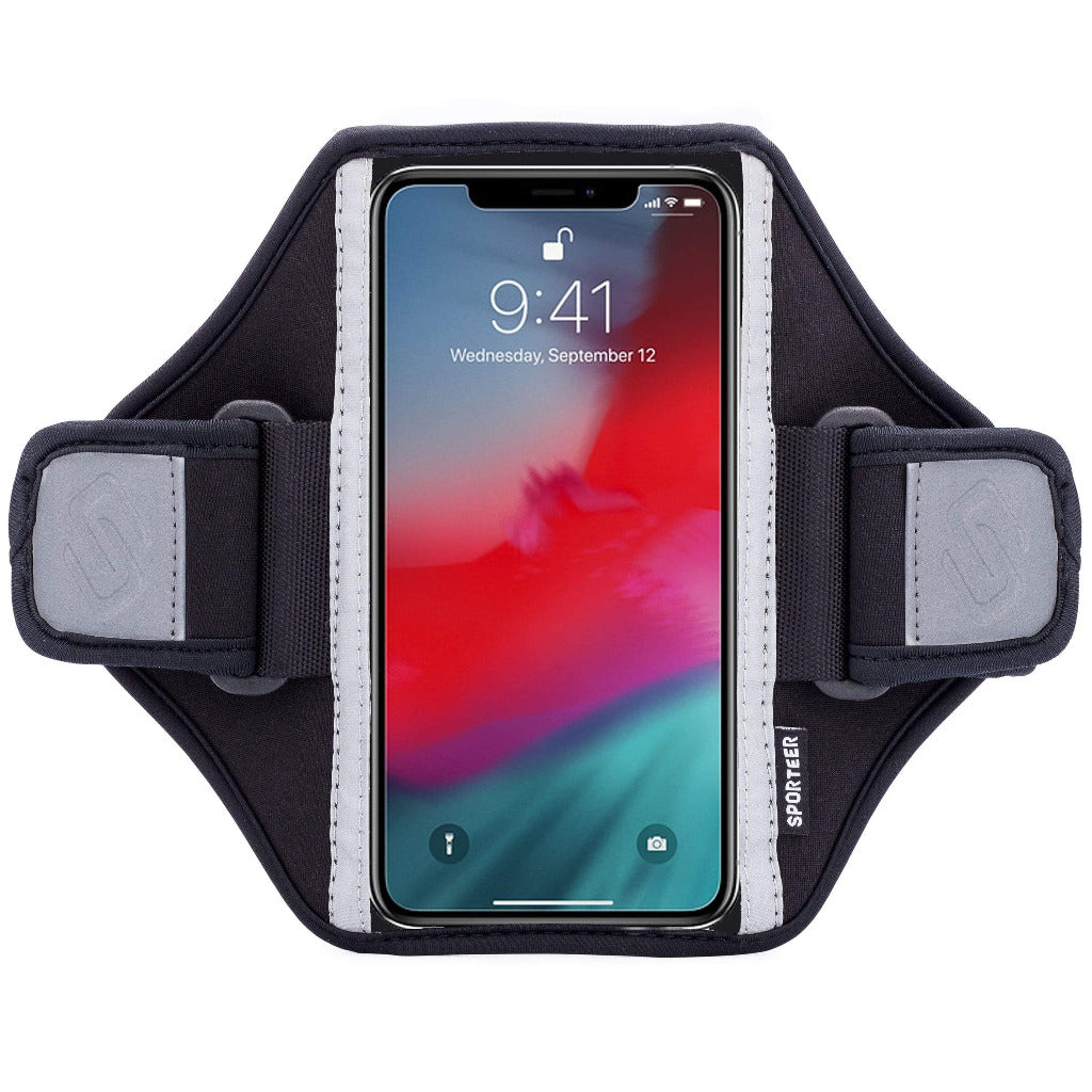 Sporteer Classic Modular iPhone Xs Armband Case for Running