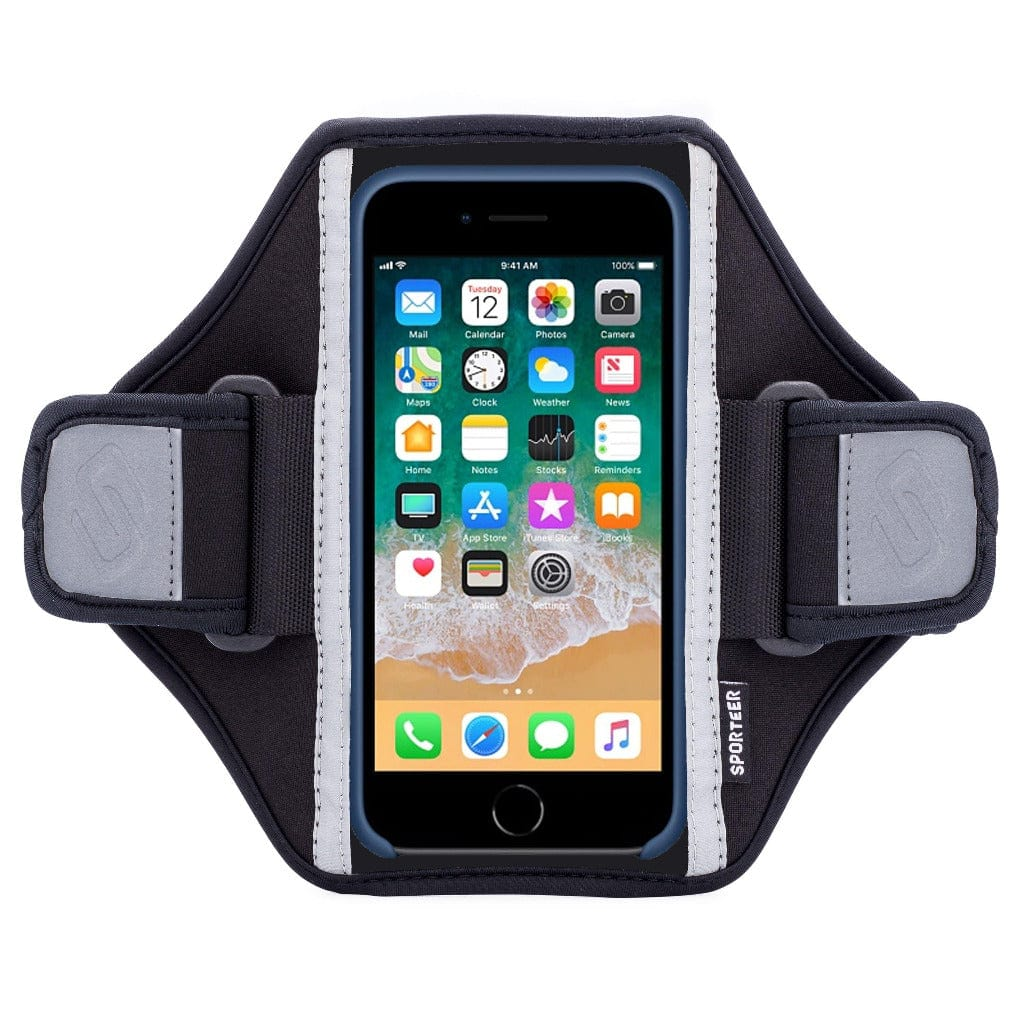 Sporteer Classic Modular iPhone 8 Armband Case for Running