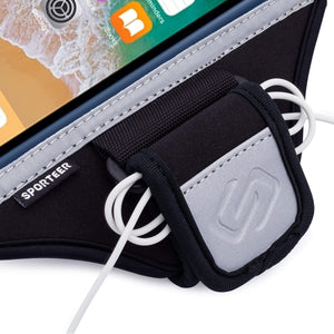 Sporteer iPhone SE Running Armband with Earphone Cord Holder