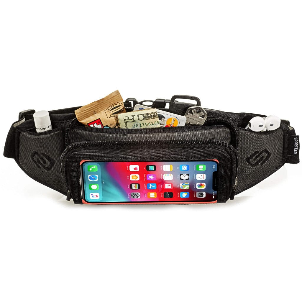 Sporteer Kinetic Fitness Running Belt for iPhone Xs Max