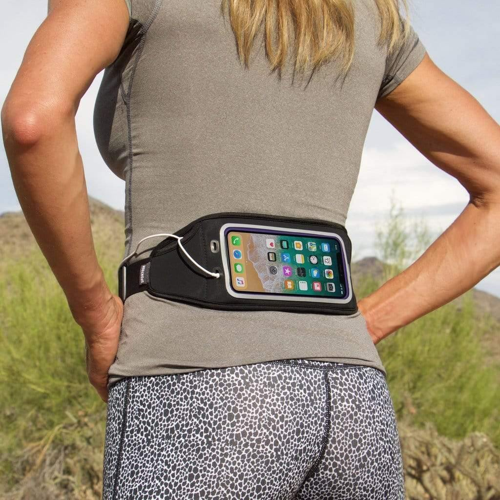 Sporteer Zephyr Fitness and Running Belt for iPhone Xs Max