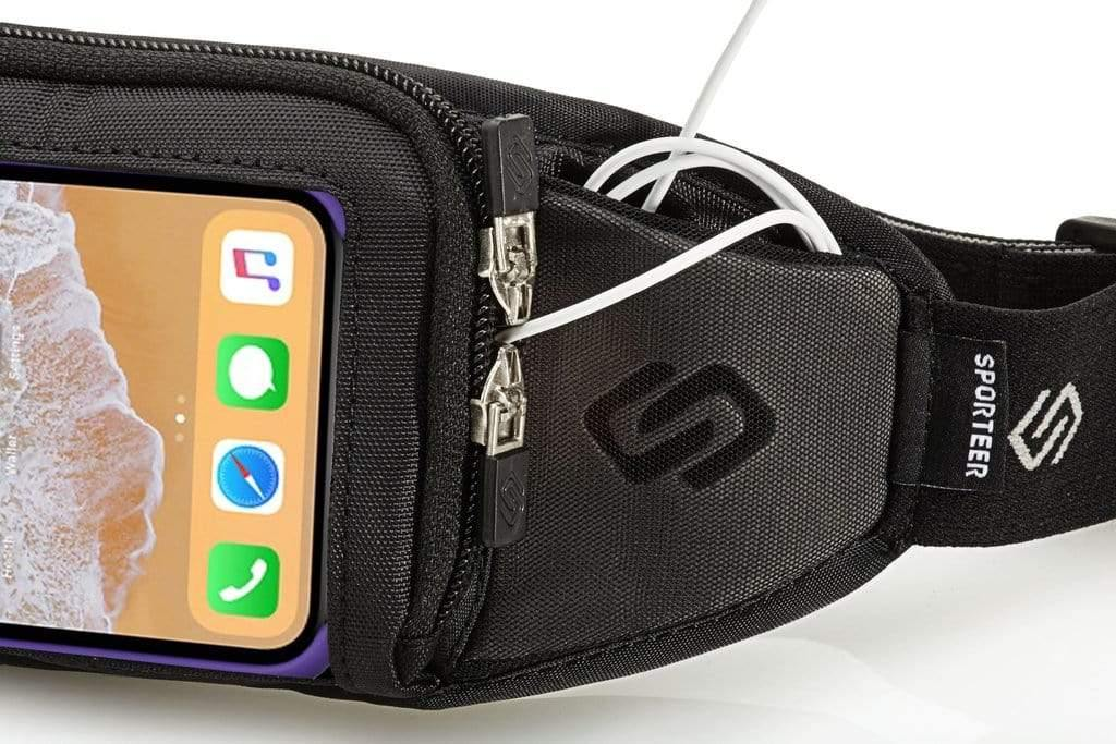 Sporteer Kinetic iPhone Xs Running Belt - Fits Otterbox Case
