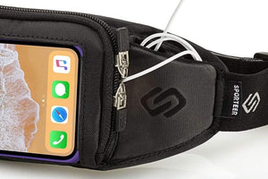 Sporteer Kinetic iPhone 12 Pro Running Belt - Fits Otterbox Case