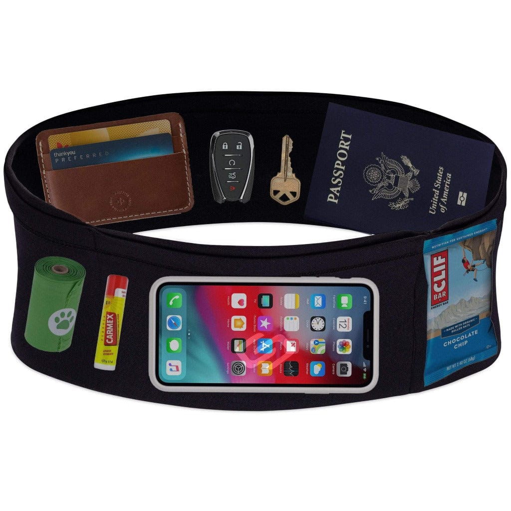 Spandex Running Belt - Carry Phone and Other Items While Working Out