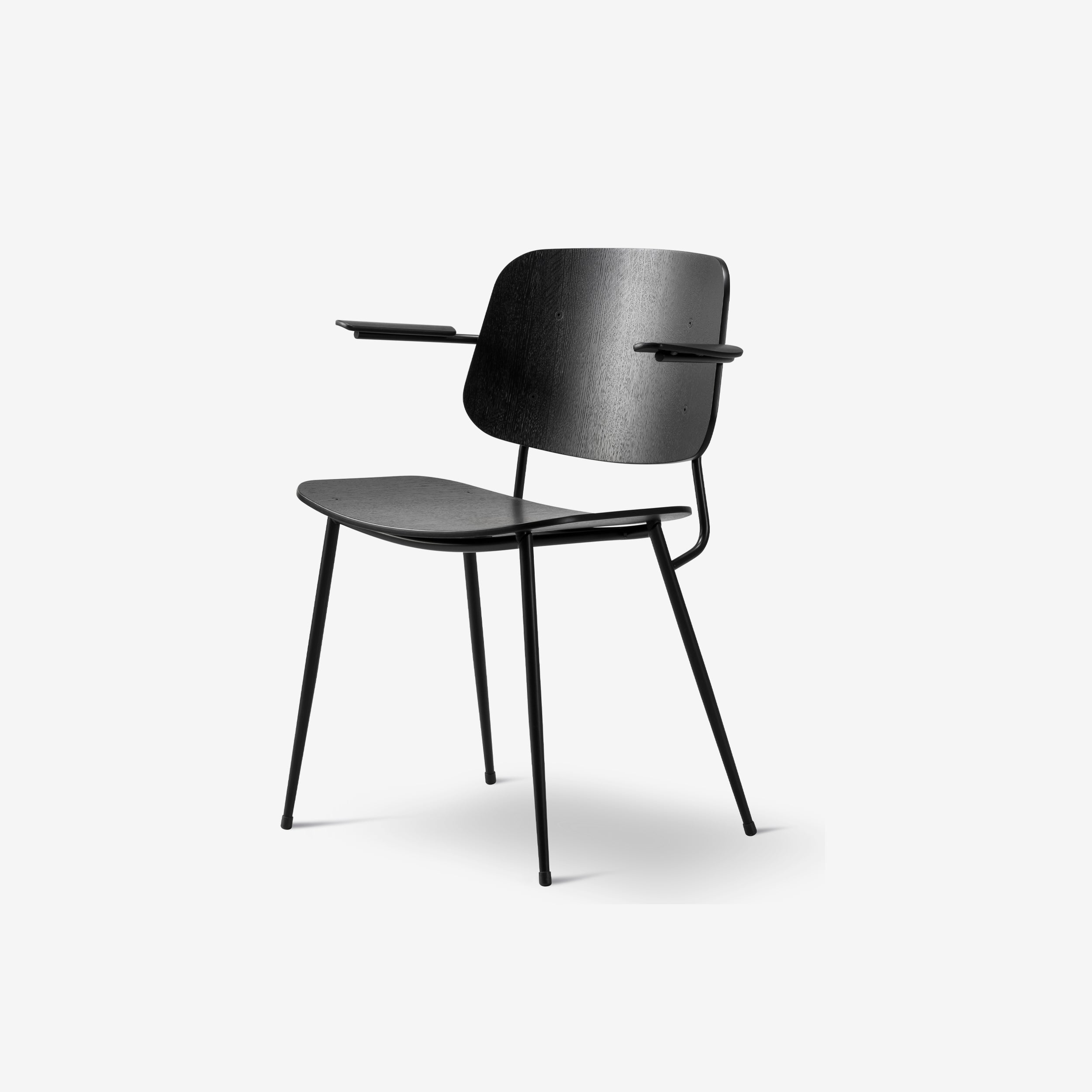 Søborg Metal Base Armchair