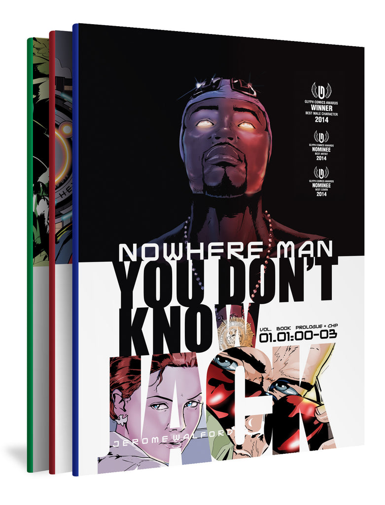 Nowhere Man: You Don't Know Jack, Three-Book Set