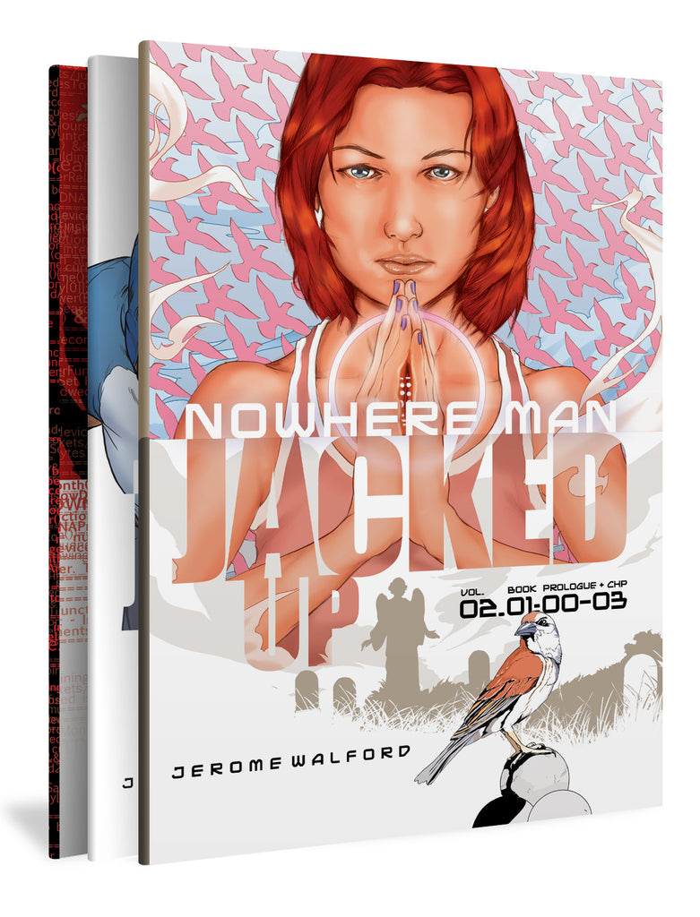 Nowhere Man: Jacked Up, Three-Book Set
