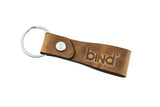 Fingerspin Key Fob in Horween® Derby Leather - Burnt Sand