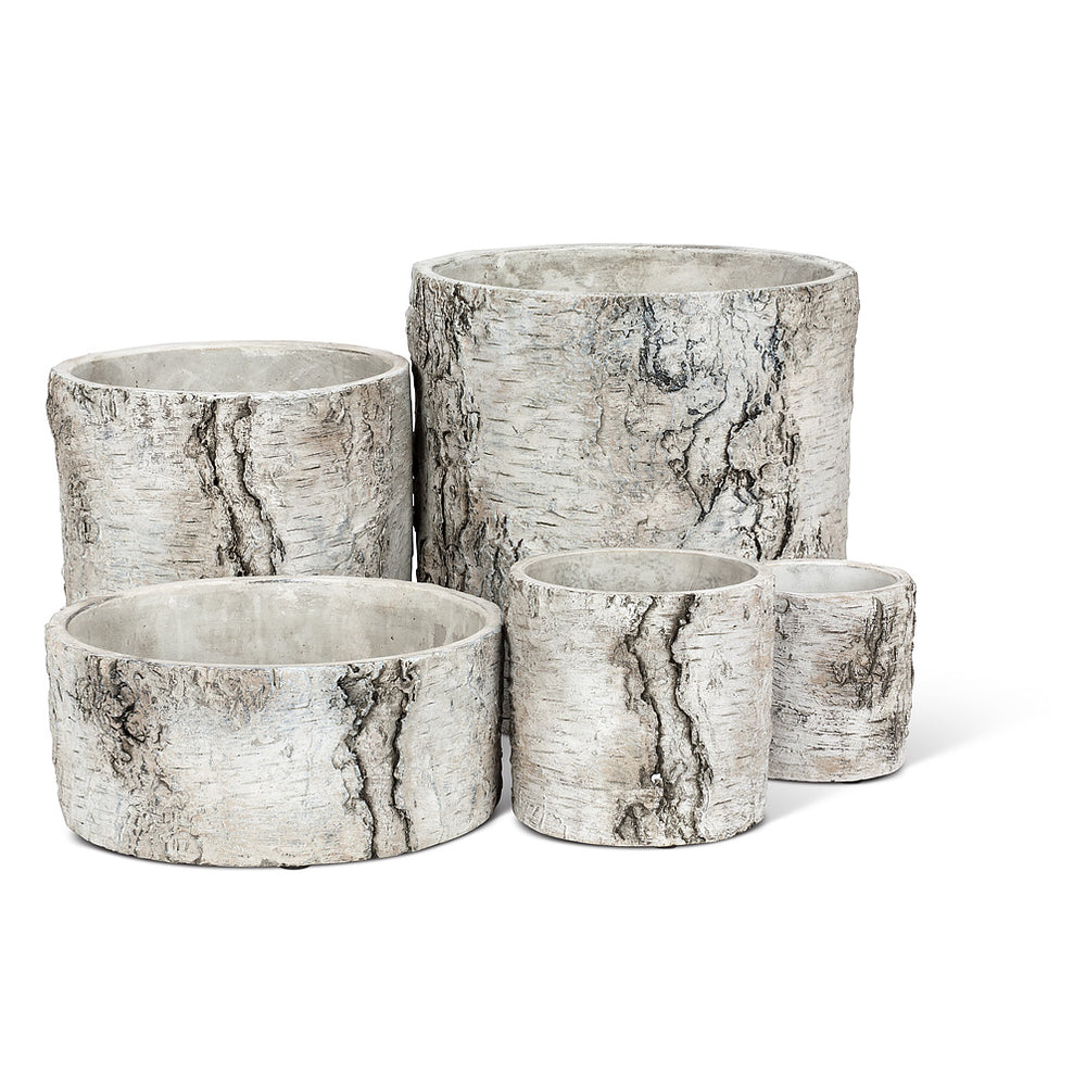 Birch Look Planter - Small