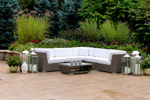 Patio Furniture Sectional WickerPark Lovett Vive Classique