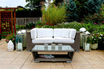Patio Furniture Sectional WickerPark Lovett Vive Love Seat