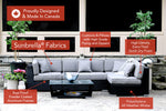 Patio Furniture Sectional WickerPark Lovett Vente Open