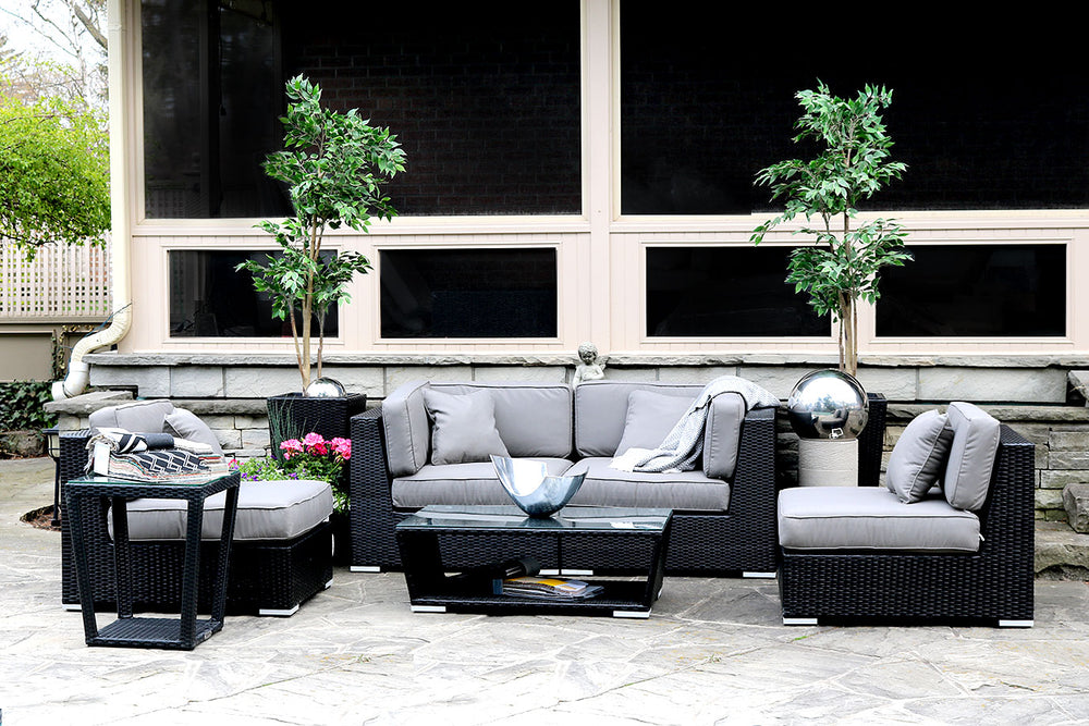 Patio Furniture Sectional WickerPark Lovett Love Doublé