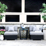 Patio Furniture Sectional WickerPark Lovett Duo