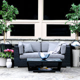 Patio Furniture Sectional WickerPark Lovett Love Seat